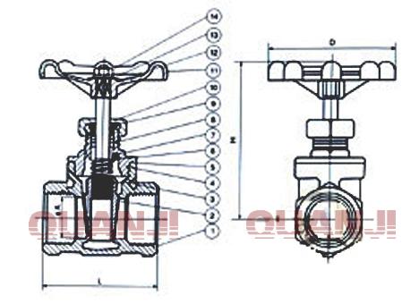 专业生产闸阀,球阀,蝶阀,截止阀,止回阀,水力控制阀图片